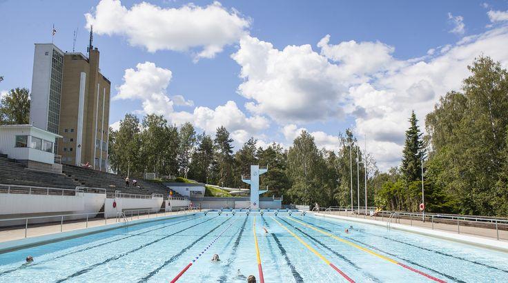 Maauimala, Riihimäki. Kuva: Tapio Aulu #Riihimäki #uimala #maauimala