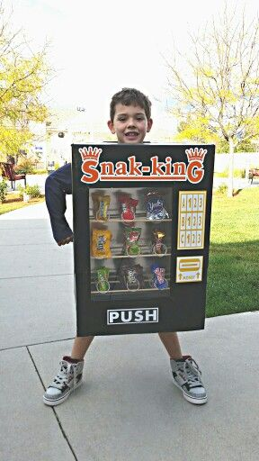 how to make a vending machine costume