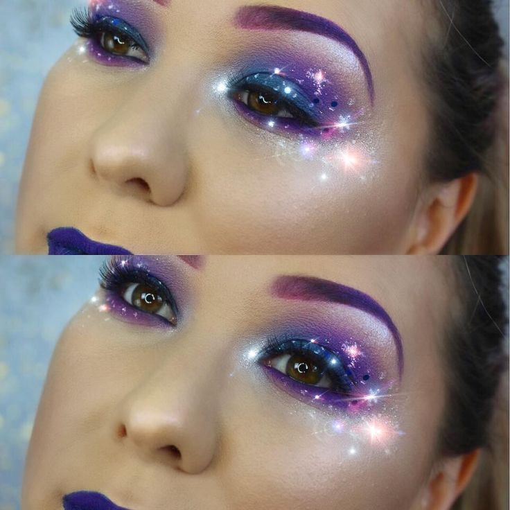 NEW VIDEO! ✨ Phoenix Renata shows how to create this fun, festival galaxy makeup look! See the full look at YouTube.com/PhoenixCosmeticsTV    Shop the products @ phoenixcosmetics.com