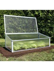 Small Greenhouse Kit - Polycarbonate with Galvanized Steel Base #gardenpestcontrol #gardeningforbeginners