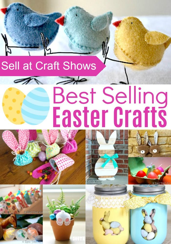 Easter Crafts To Sell At Craft Shows Easy Easter Crafts Easter