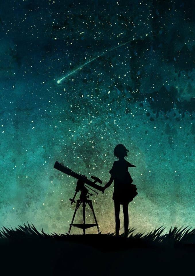 Ella habla de ti, como si tu quien pone las estrellas en el cielo.