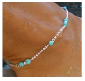Beaded Anklet Chain