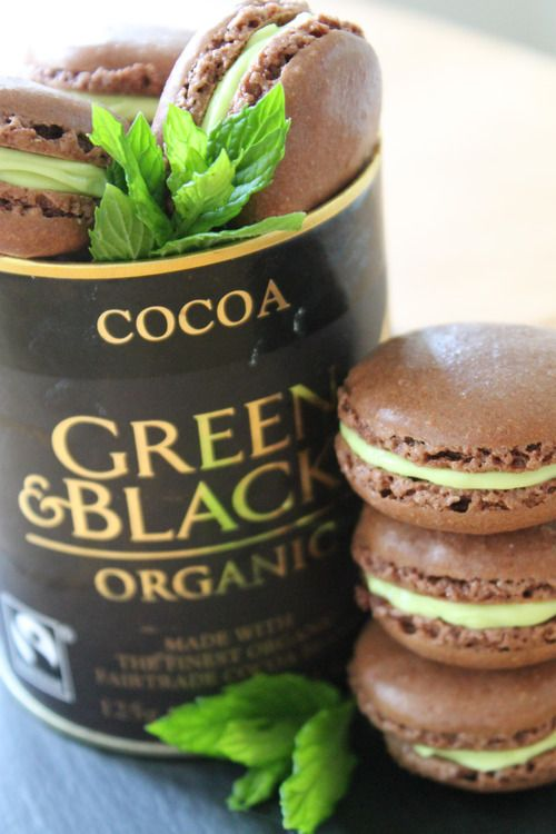 After Eights macaroons