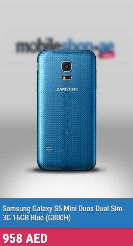 Samsung Galaxy S5 Mini On its cool and classy look for all the girls out there. this item has pleasant, attractive and eye catching gadget ...  http://mobileshop.ae/samsung-galaxy-s5-mini-duos-dual-sim-3g-16gb-blue