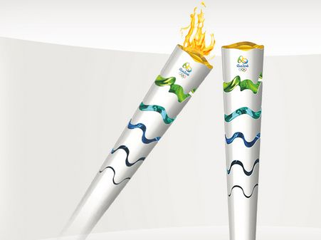 2016 Rio Summer Olympic Torch Unveiled