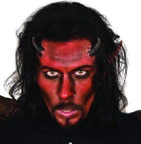 maquillaje diablo negro - Buscar con Google