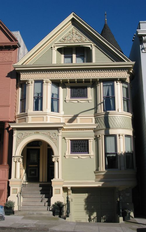 1000 images about san fran on pinterest san francisco for San francisco victorian houses
