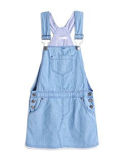 Pumpkin Patch Kids Fashion. Spring/summer 2013. Gina dungaree dress