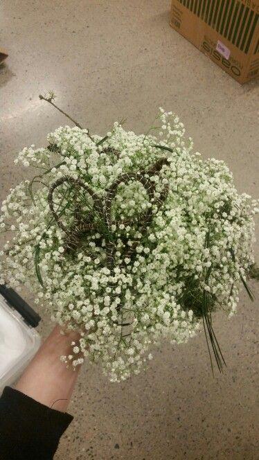 Brudebukett - fjell bryllup