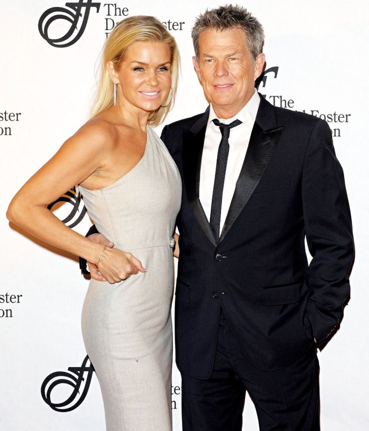 Yolanda Foster married to David Foster. I love her views on the traditional roles of man and wife. Her romantic attentive approach is amazing.