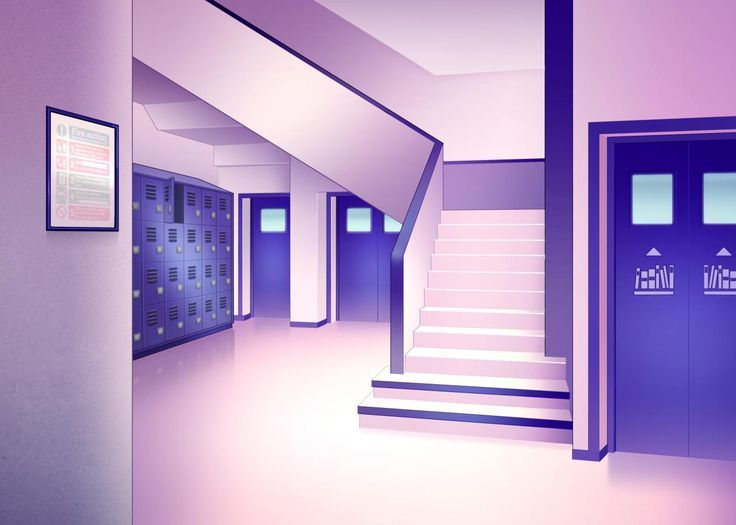 Stairs In 2020 With Images Anime Backgrounds Wallpapers Anime