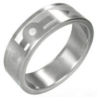 Smooth Etched Male & Female Transgender Symbol Ring - LGBT Pride Price: $20.29 http://www.shareasale.com/m-pr.cfm?merchantID=36679&userID=856296&productID=546097064