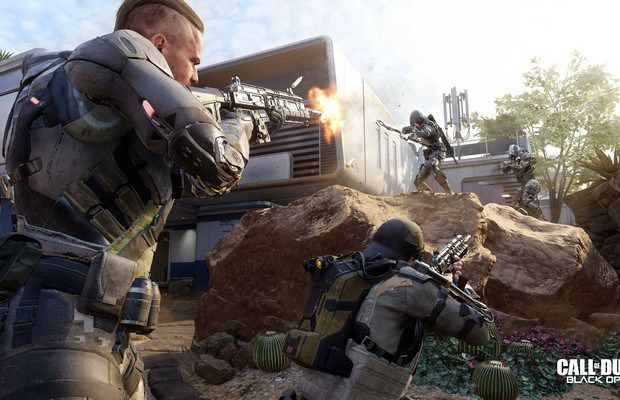 COD BlackOps III Game Screenshots