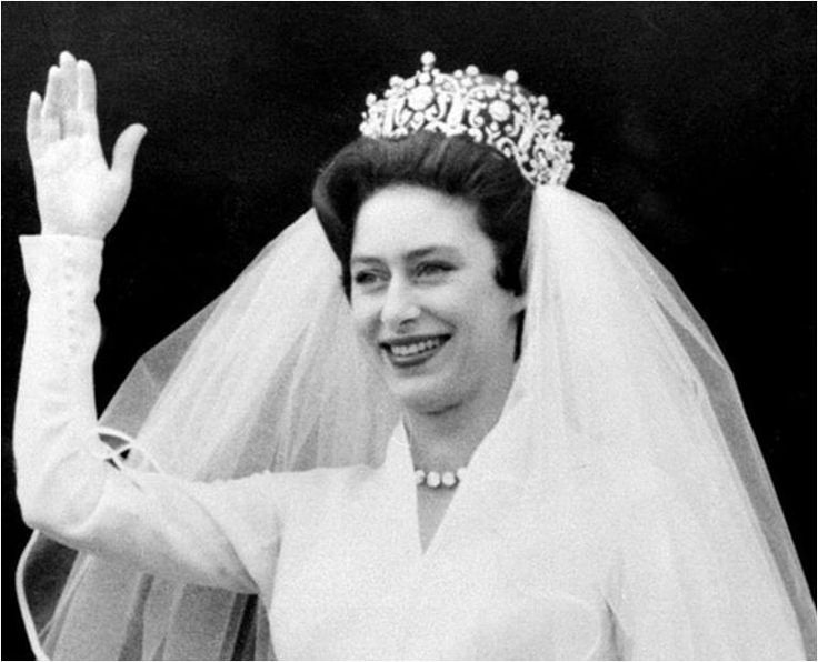 Princess Margaret on her Wedding Day. One of my favourite Royal Wedding ensembles ever!