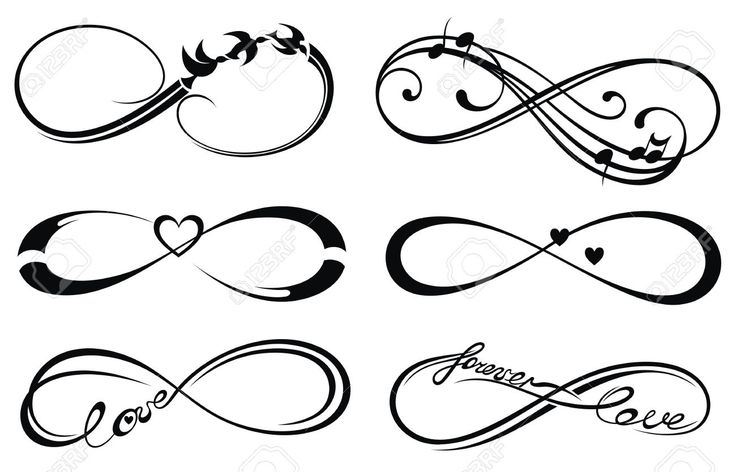 Infinity love, forever symbol                                                                                                                                                     More