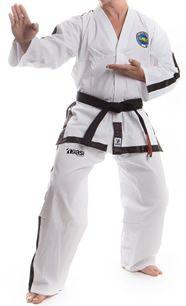 Taekwondo GTF Dobok, Taekwondo GTF Uniform, Taekwondo GTF Gi, Taekwondo Uniform, Taekwondo Gi. To buy online this product just click here: http://agasi.com.my/Taekwondo/Taekwondo-Uniforms/Taekwondo-GTF-Uniform-For-Master-Ribbed-Design