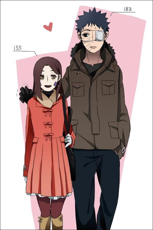 140 best images about True love coupl: Obito x Rin on ...