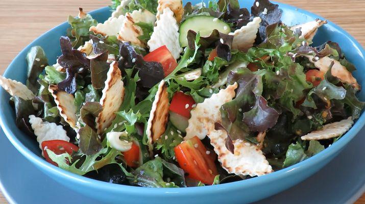 Идеальный летний салат с фантастической заправкой