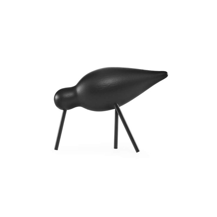 NORMANN COPENHAGEN shorebird medium svart kr. 299,- ✓