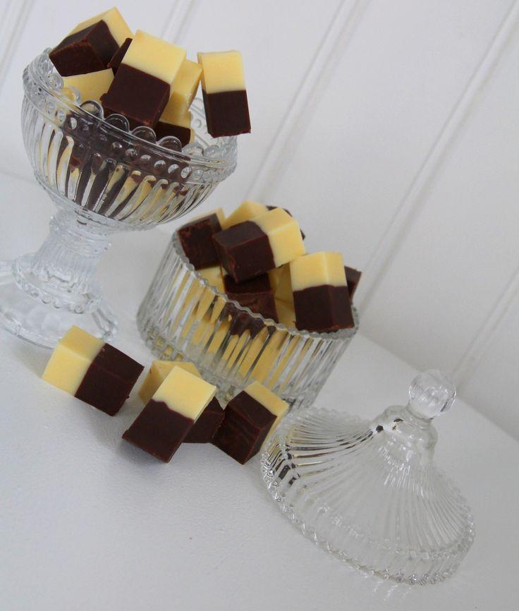 banan och choklad-fudge