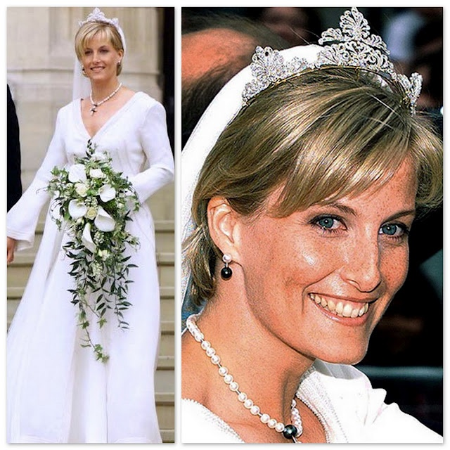 British Royal Wedding Gowns: Sophie. Countess Of Wessex