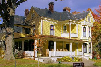 Home of author Thomas Wolfe, this is where he wrote Look Homeward Angel...it is located in Asheville, N.C.