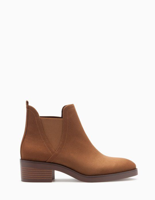 At Stradivarius you'll find 1 Elasticated ankle boots for woman for just 399 MAD . Visit now to discover this and more BOOTS AND ANKLE BOOTS.