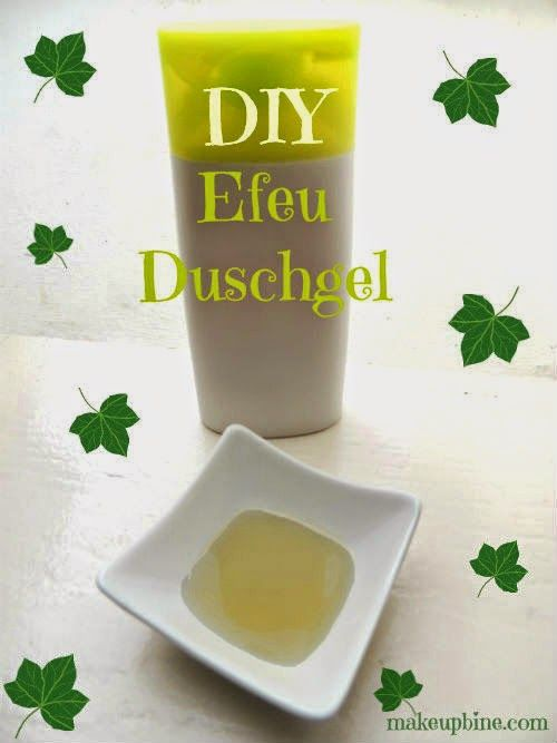 DIY Efeu Duschgel, vegan