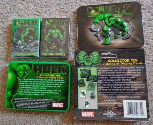 Hulk Movie Playing Cards Marvel Brand New