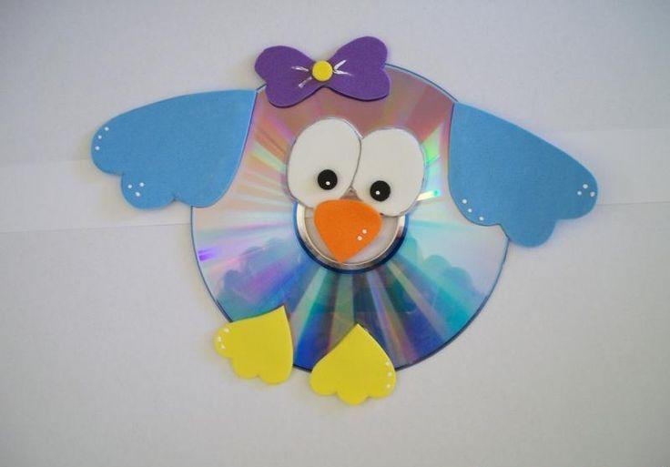 CD animal craft for kids | PicturesCrafts.com