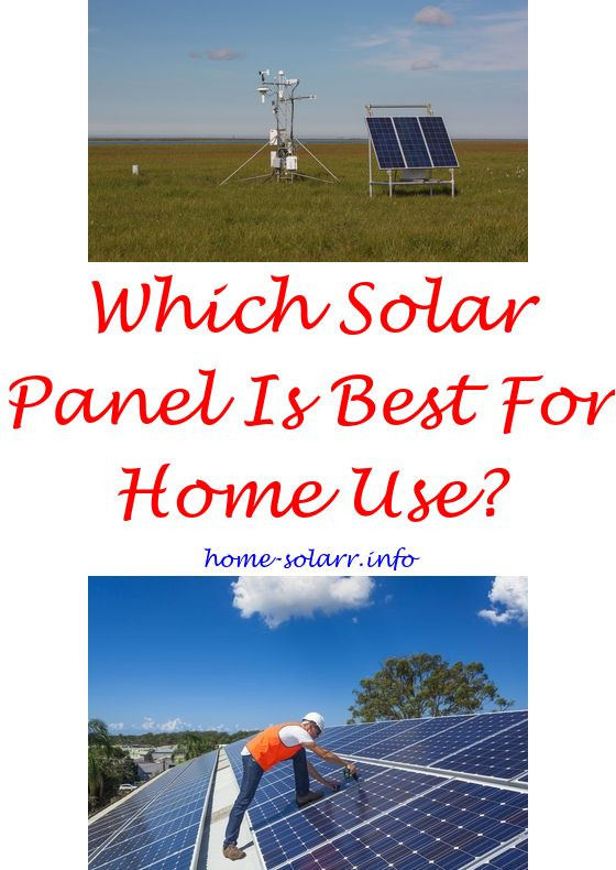 hook up solar panels your house