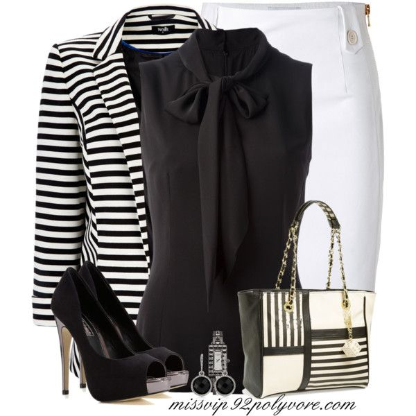 A fashion look from April 2014 featuring Dolce&Gabbana blouses, Wallis blazers and Moschino skirts. Browse and shop related looks.