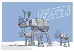Star Wars Christmas Art