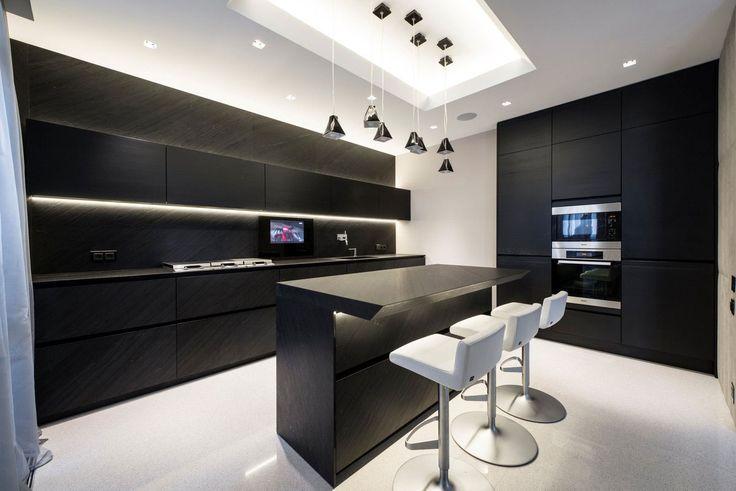 esempio illuminazione cucina, controsoffitto e faretti