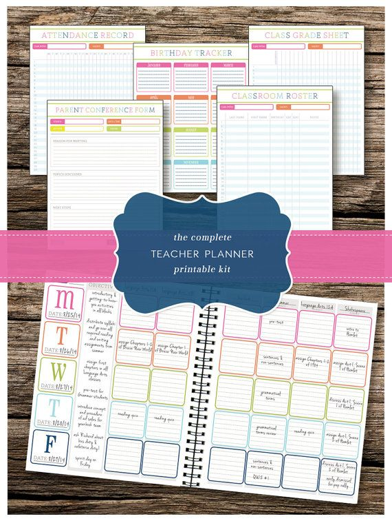 7 best Homeschool Planner ideas images on Pinterest - microsoft weekly planner