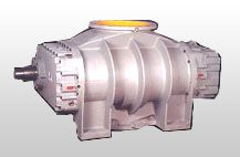 Rotary Compressor is an advanced design. Basic concepts present in a Twin Lobe Rotary Compressor are modified. The configuration of Rotor is changed to Tri Lobe. This profile enables the rotor pair to entrap and sweep the volume of air/gas 6 times in a revolution.