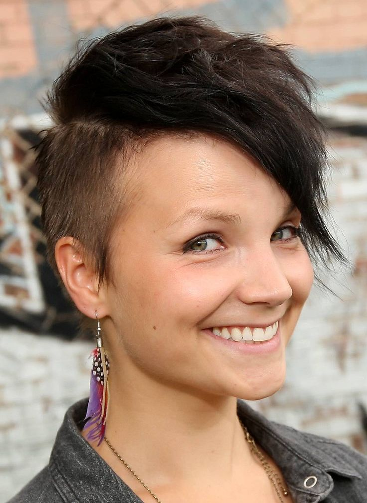 Tremendous 1000 Images About Hair On Pinterest Edgy Haircuts Mohawks And Short Hairstyles For Black Women Fulllsitofus