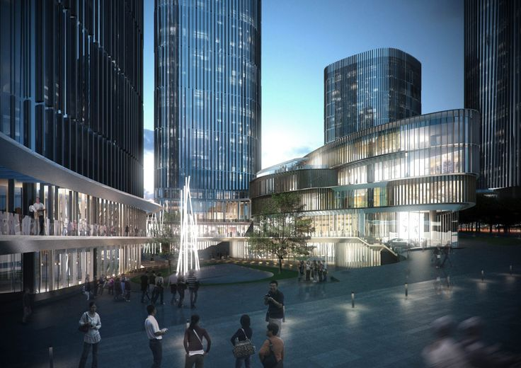 10 Design - Danzishi Central Business District