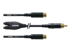 Cordial CFY 0.3 CEE Kabeladapter  2x Cinch Cinch Männlich/weiblich Schwarz Gold     #Cordial #CFY 0,3 CEE #Kabel Audio  Hier klicken, um weiterzulesen.