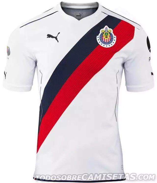 5cb73df6b52 Guadalajara Chivas Jersey 2016/17 Away Soccer Shirt | Chiva de corazón ❤ |  Futbol chivas, Chivas de guadalajara, Club deportivo guadalajara