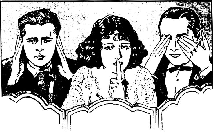topic: people credit: https://openclipart.org/detail/270170/hear-say-see-no-evil-people