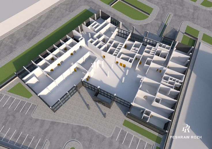 Oncology Private Hospital Duhok on Behance in 2020