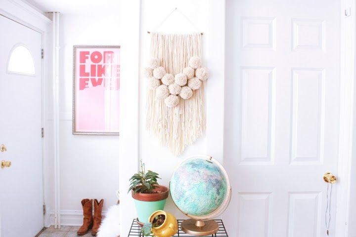 FOXTAIL + MOSS: MAKE: Yarn Wall Hanging