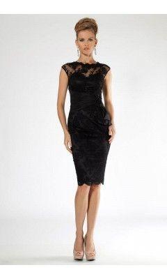 evening dresses black