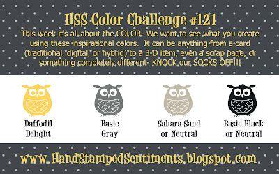 HSS Color Challenge #121