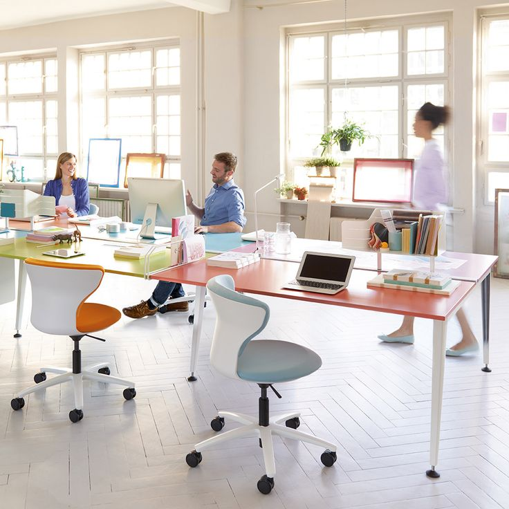 Get Together Bench Desks Is The New Workstation Solution For The Modern  Office That Is As
