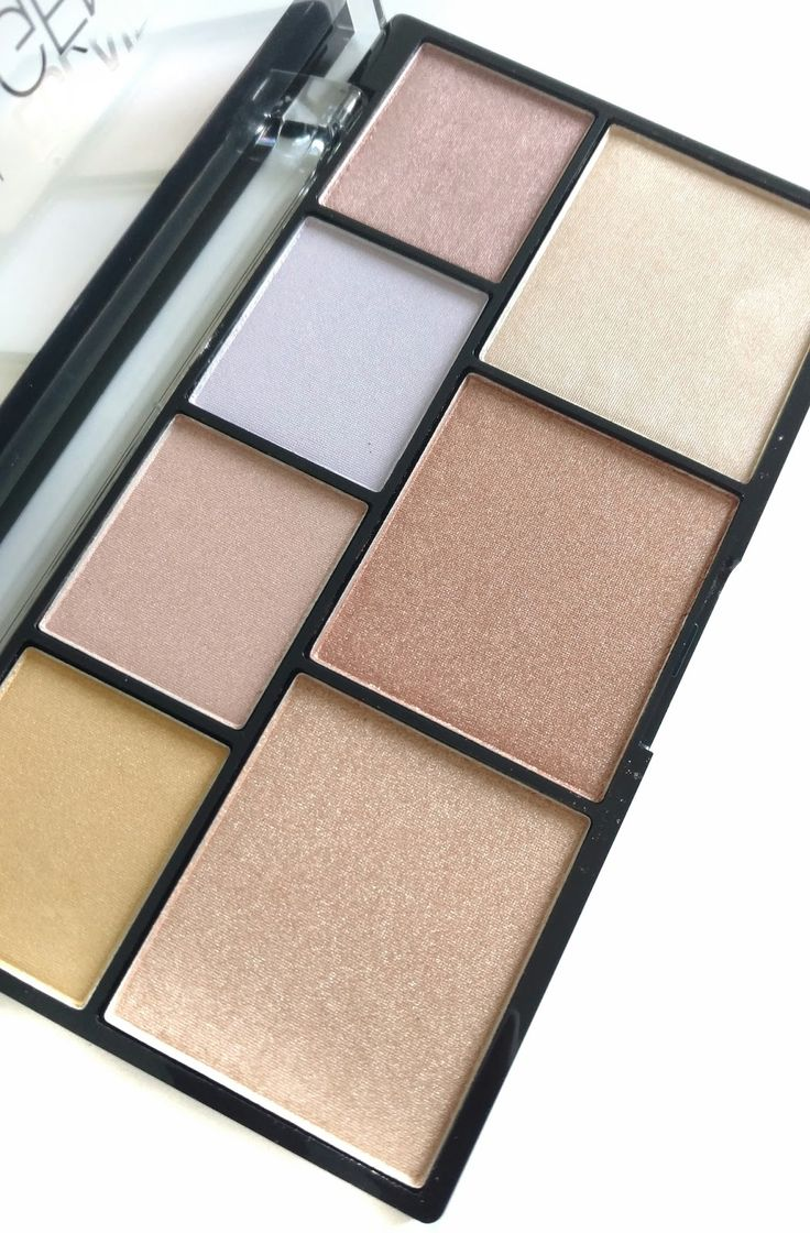 NYX Strobe of Genius Illuminating Palette Review