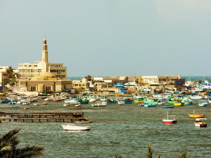 #Alexandria Harbor #Egypt  ميناء إسكندريّة ، مصر
