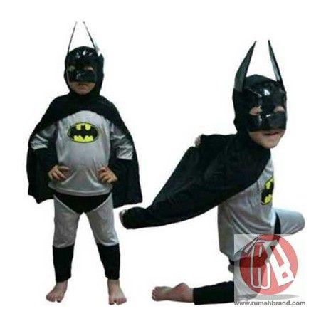 Batman (KC-1) @Rp.135.000,-   http://rumahbrand.com/kostum-anak/1412-batman.html